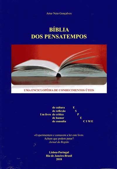 Bíblia dos pensatempos (Artur Neto Gonçalves)