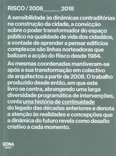 Risco 2008-2018 (ed. José Manuel das Neves)