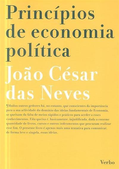 Princípios de economia política (João César das Neves)