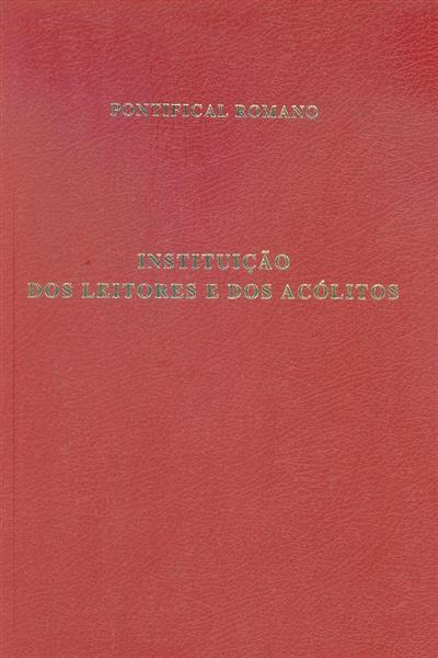 Instituição dos leitores e dos acólitos