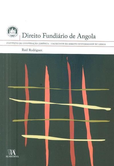 Direito fundiário de Angola (Raúl Rodrigues)