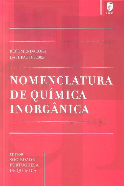 Nomenclatura de química inorgânica (Neil G. Connelly... [et al.])