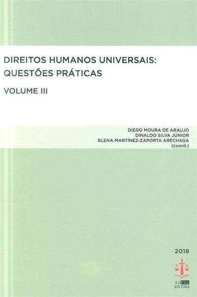 Direitos humanos universais (coord. Diego Moura de Araujo, Dinaldo da Silva Júnior, Elena Martínez-Zaporta Aréchaga)