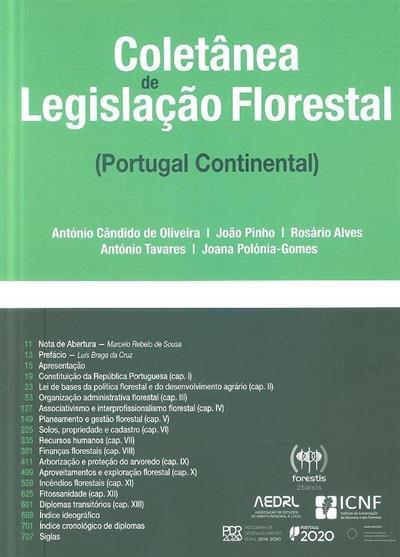 Coletânea de legislação florestal (Portugal Continental) (António Cândido de Oliveira... [et al.])