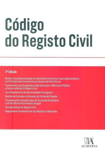 Código do registo civil