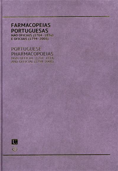 Farmacopeias portuguesas (José Manuel Sousa Lobo, Eduarda Fernandes, Jaime Conceição)