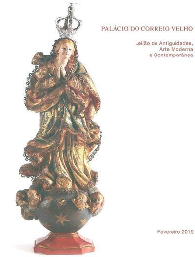 Leilão de antiguidades, arte moderna e contemporânea (Palácio do Correio Velho)