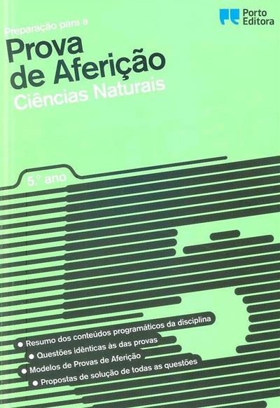 Preparação para a prova de aferição ciências naturais, 5º ano (Lucinda Motta, Maria dos Anjos Viana)