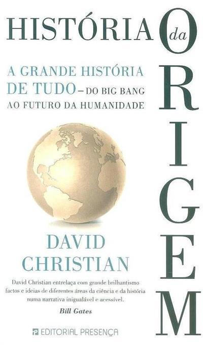 História da origem (David Christian)