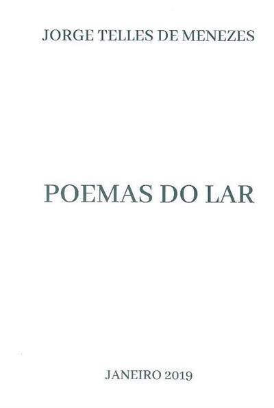 Poemas do lar (Jorge Telles de Menezes)