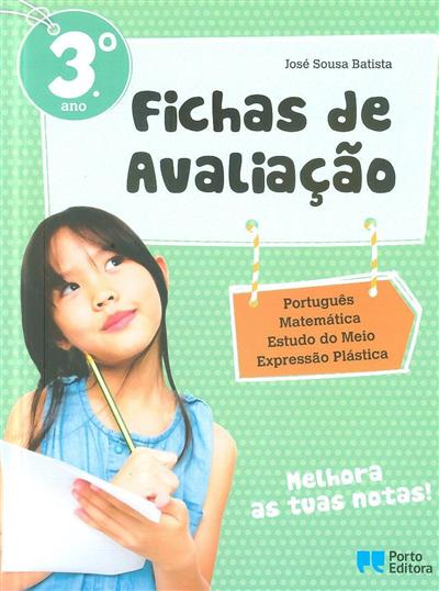 Fichas de avaliação, 3º ano (José Sousa Batista)