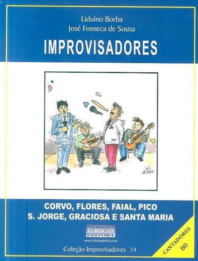 Improvisadores (org. e texto Liduíno Borba, José Fonseca de Sousa)