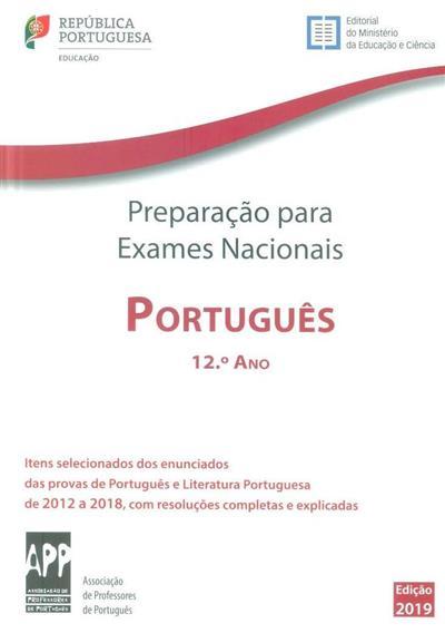 Preparação para os exames nacionais português, 12º ano, 2012 a 2018