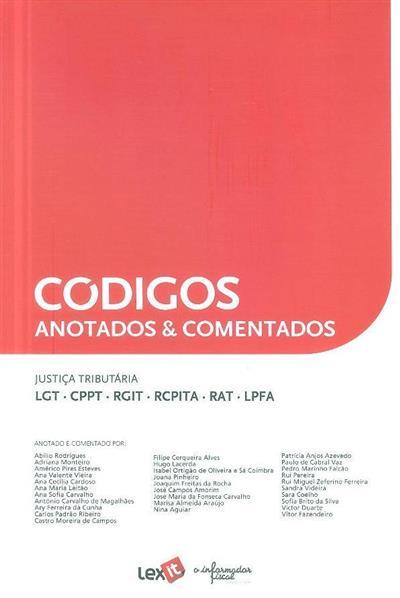 Justiça tributária (anot. e coment. Abílio Rodrigues... [et al.])