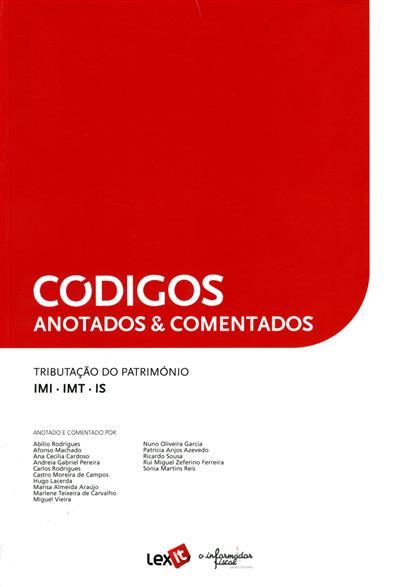 Tributação do património (anot. e coment. Abílio Rodrigues... [et al.])