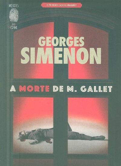A morte de M. Gallet (Georges Simenon)