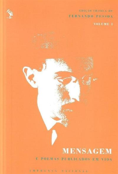 Mensagem e poemas publicados em vida (Fernando Pessoa)