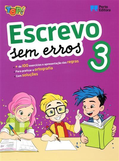 Top! Escrevo sem erros 3 (Isabel Sebastião)