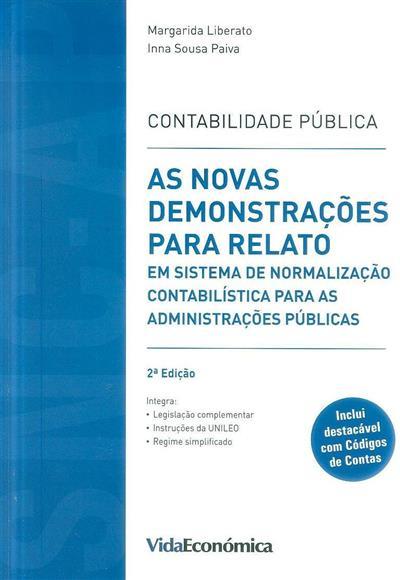 Contabilidade pública (Margarida Liberato, Inna Sousa Paiva)