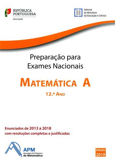 Preparação para os exames nacionais de Matemática A, 12º ano