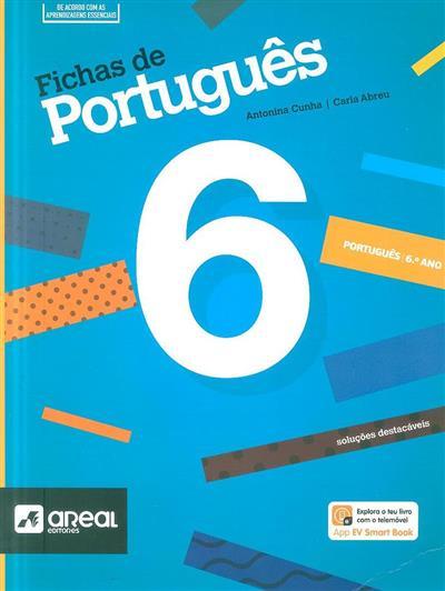 Fichas de português (Antonina Cunha, Carla Abreu)