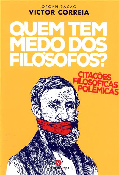 Quem tem medo dos filósofos? (org. Victor Correia)