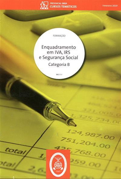 Enquadramento em IVA, IRS, segurança social (Domingos Silva Fernandes)