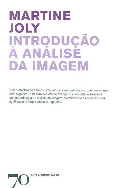 Introdução à análise da imagem (Martine Joly)