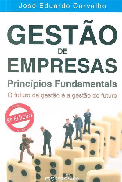 Gestão de empresas (José Eduardo Carvalho)