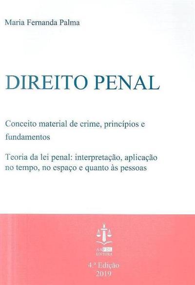 Direito penal (Maria Fernanda Palma)