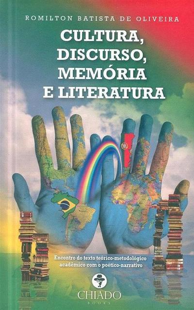 Cultura, discurso, memória e literatura (Romilton Batista de Oliveira)