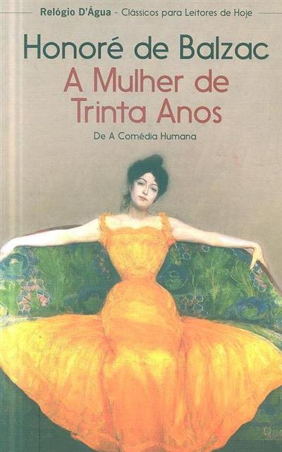 A mulher de trinta anos (Honoré de Balzac)