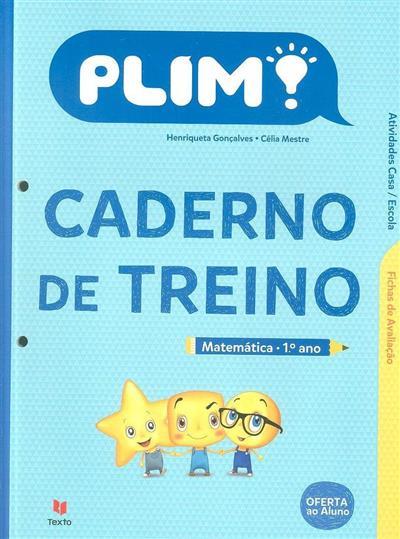 Plim!, caderno de treino (Henriqueta Gonçalves, Célia Mestre)