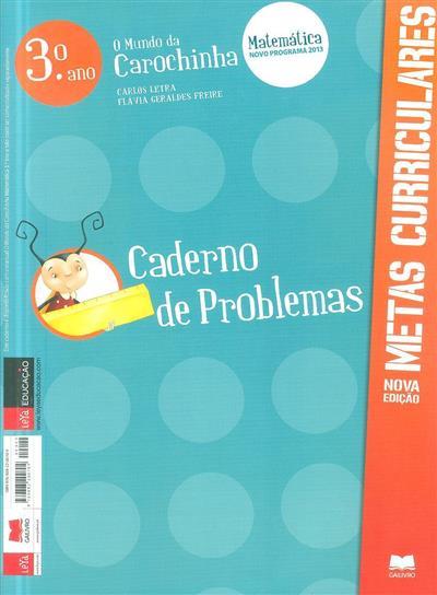 Caderno de problemas (Carlos Letra, Flávia Geraldes Freire)