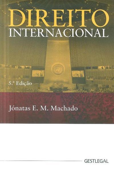 Direito internacional (Jónatas E. M. Machado)