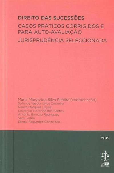 Direito das sucessões (coord. Maria Margarida Silva Pereira)