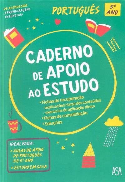 Caderno de apoio ao estudo (Joana Faria)