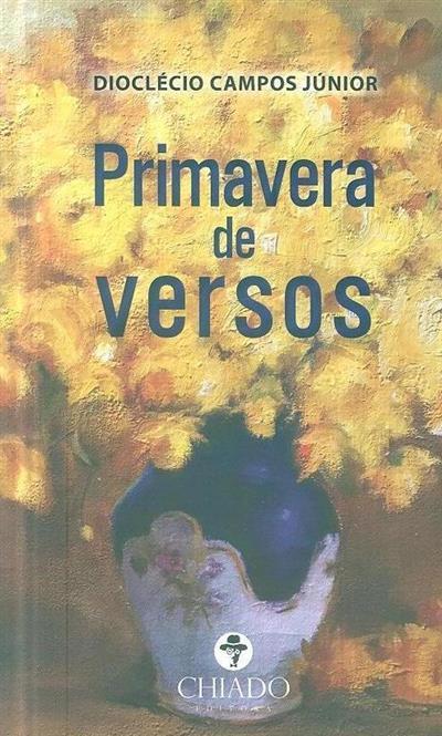 Primavera de versos (Dioclécio Campos Júnior)