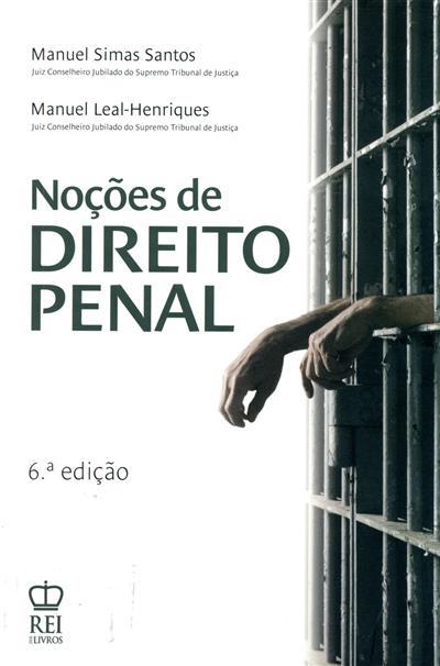 Noções de direito penal (Manuel Simas Santos, Manuel Leal-Henriques)