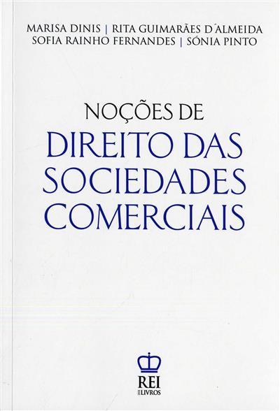 Noções de direito das sociedades comerciais (Marisa Dinis... [et al.])