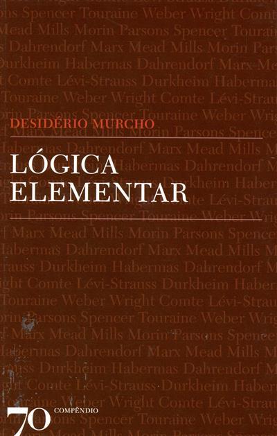 Lógica elementar (Desidério Murcho)
