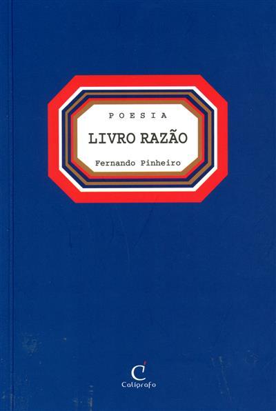 Livro razão (Fernando Pinheiro)