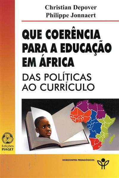Que coerência para a educação em África (Christian Depover, Philippe Jonnaert)