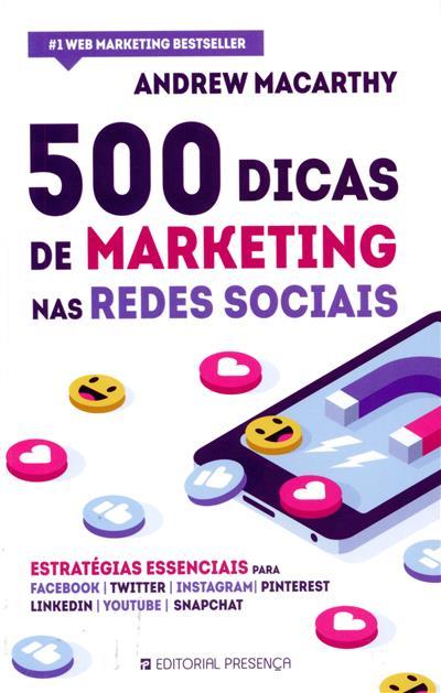 500 dicas de marketing nas redes sociais (Andrew Macarthy)