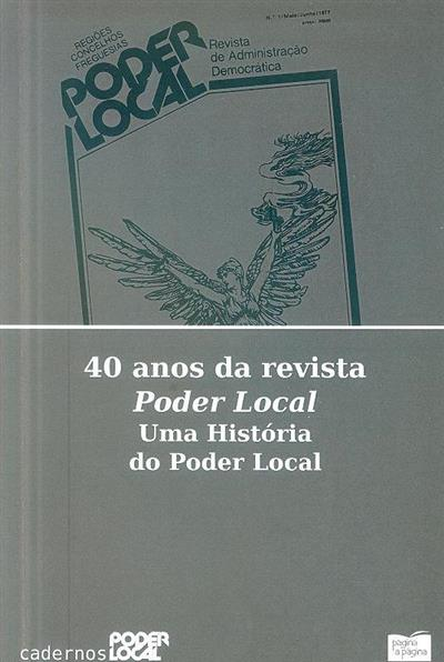 40 anos da revista poder local