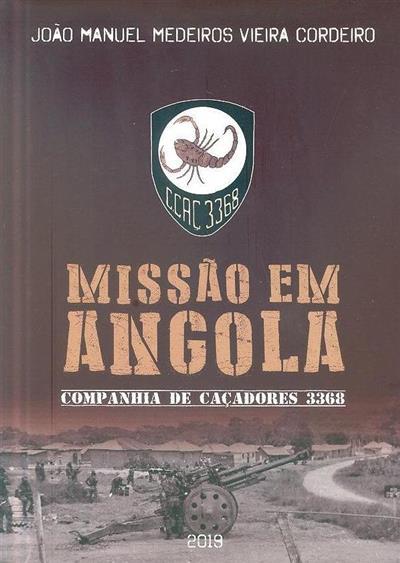 Missão em Angola (João Manuel Medeiros Vieira Cordeiro)