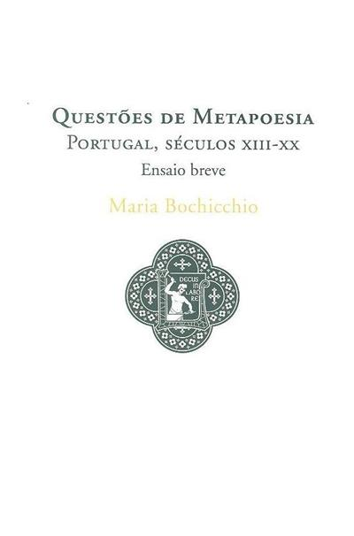 Questões de metapoesia (Maria Bochicchio)