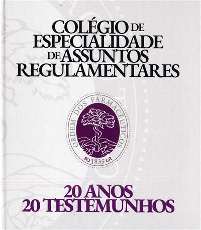 Colégio de Especialidade de Assuntos Regulamentares