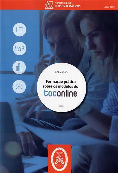 Formação prática sobre os módulos do TOConline (Ordem dos Contabilistas Certificados)