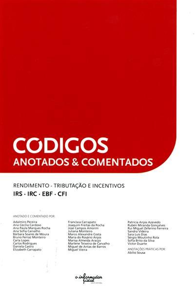 Códigos anotados & comentados (anot. e coment. Adalmiro Pereira... [et al.])